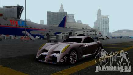 Panoz Abruzzi Le Mans V1.0 2011 для GTA San Andreas
