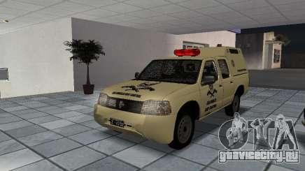Nissan Terrano LARC для GTA San Andreas