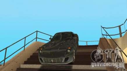 Ferrari 599 GTB Fiorano (чёрный салон) для GTA San Andreas