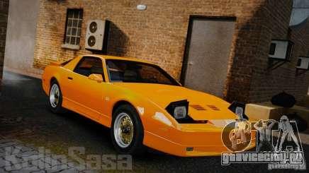 Pontiac Firebird Trans Am GTA 1987 [EPM] для GTA 4