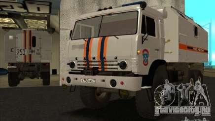 Камаз МЧС version 2 для GTA San Andreas