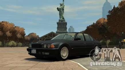 BMW 750i (E38) 1998 для GTA 4