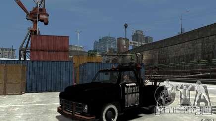 Black Towtruck для GTA 4