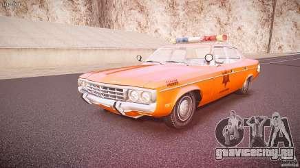 AMC Matador Hazzard County Sheriff [ELS] для GTA 4