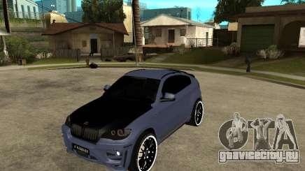 BMW X6 M HAMANN для GTA San Andreas