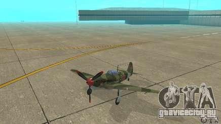 Як-9 времён ВОВ для GTA San Andreas
