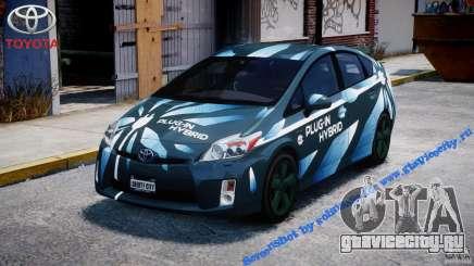 Toyota Prius 2011 PHEV Concept для GTA 4