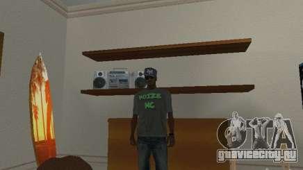 Футболка Noize Mc для GTA San Andreas