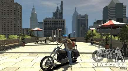 Zombie Bike Paintjob для GTA 4