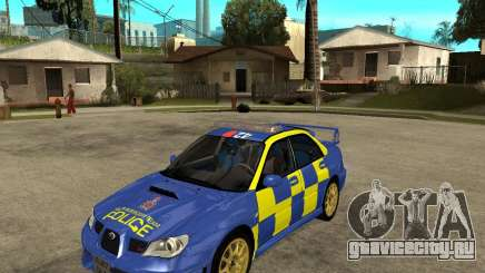 Subaru Impreza STi police для GTA San Andreas
