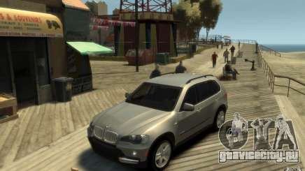 BMW X5 E70 Chrome для GTA 4