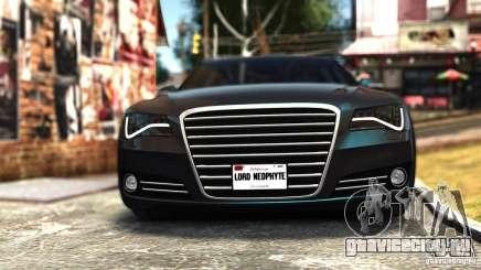Audi A8 2010 для GTA 4