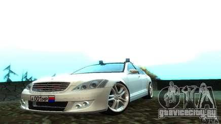 Mercedes-Benz S500 W221 Brabus для GTA San Andreas