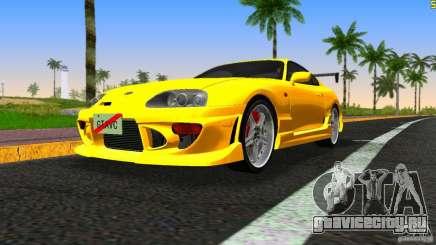 Toyota Supra JZA80 C-West для GTA Vice City