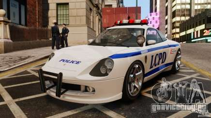 Comet Police белый для GTA 4