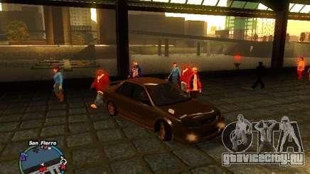 Mazda Mazdaspeed Familia 2001 для GTA San Andreas