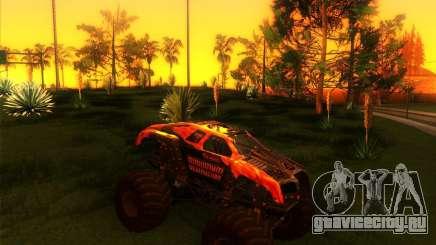 Monster Truck Maximum Destruction бордовый для GTA San Andreas