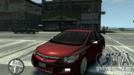 Honda Civic 2006 для GTA 4