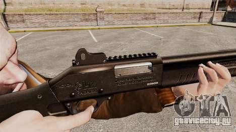 Тактический дробовик Fabarm SDASS Pro Forces v1 для GTA 4 четвёртый скриншот