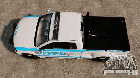 Ford F-150 v3.3 NYPD [ELS & EPM] v2 для GTA 4 вид справа