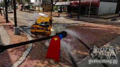 Скрипт Супермэн для GTA 4 седьмой скриншот