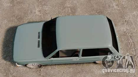 Volkswagen Brasilia для GTA 4 вид справа
