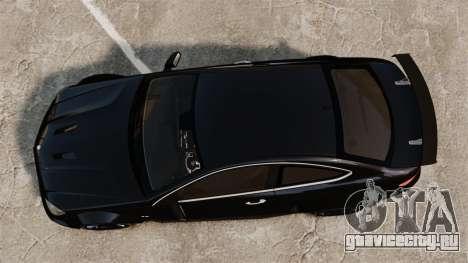Mercedes-Benz C63 AMG BSAP (C204) 2012 для GTA 4 вид справа