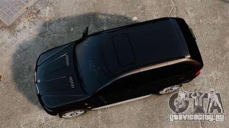 BMW X5 4.8iS v1 для GTA 4 вид справа