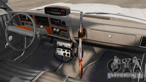 Dodge Aspen 1979 [ELS] для GTA 4 вид изнутри