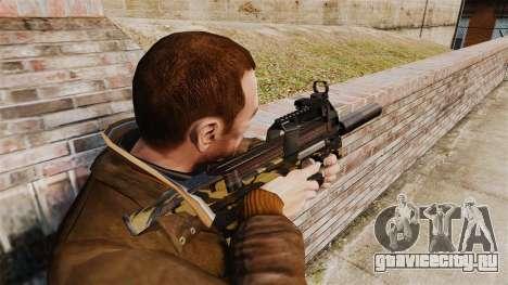 Бельгийский пистолет-пулемёт FN P90 v6 для GTA 4 второй скриншот