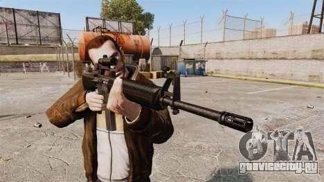 M16 A2 для GTA 4 третий скриншот