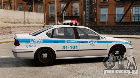 Полиция Монреаля v2 для GTA 4