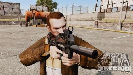 Бельгийский пистолет-пулемёт FN P90 v1 для GTA 4 третий скриншот