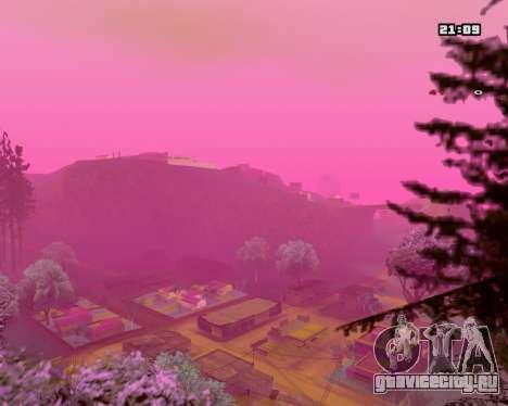 Pink NarcomaniX Colormode для GTA San Andreas второй скриншот