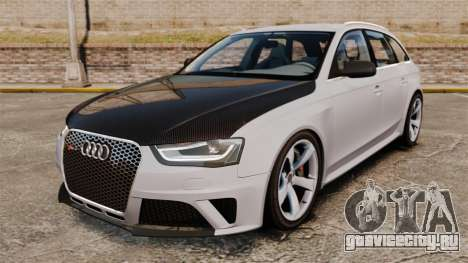 Audi RS4 Avant 2013 Sport v2.0 для GTA 4