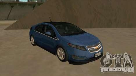 Chevrolet Volt 2011 [ImVehFt] v1.0 для GTA San Andreas вид слева