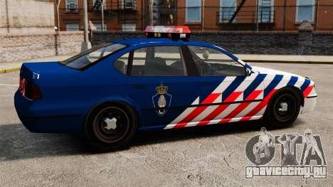 Военная полиция Голландии для GTA 4 вид слева