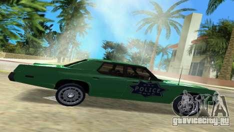 Dodge Monaco Police для GTA Vice City вид слева