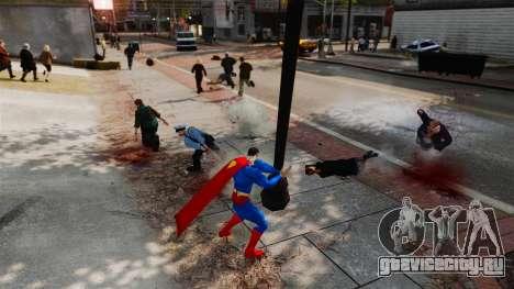 Скрипт Супермэн для GTA 4 восьмой скриншот