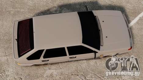 ВАЗ-2114 Бункер для GTA 4 вид справа