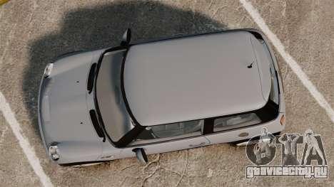 Mini Cooper S 2008 v2.0 для GTA 4 вид справа