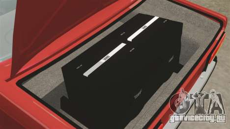 ВАЗ-2107 для GTA 4 вид сбоку