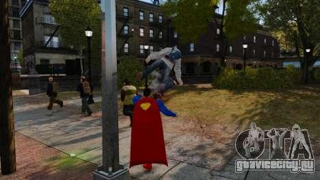 Скрипт Супермэн для GTA 4 второй скриншот