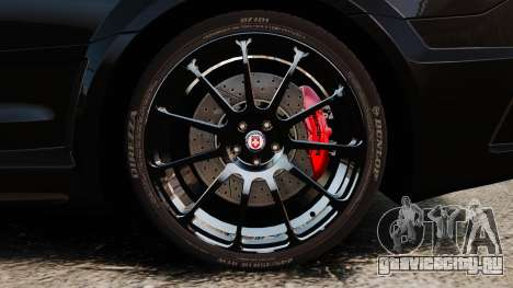 Mercedes-Benz C63 AMG BSAP (C204) 2012 для GTA 4 вид сзади