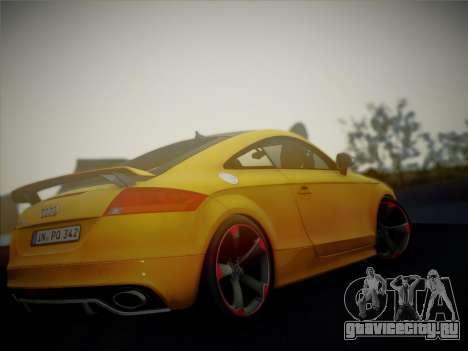 Audi TT RS 2013 для GTA San Andreas вид справа