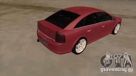 Opel Vectra C Irmscher для GTA San Andreas вид справа