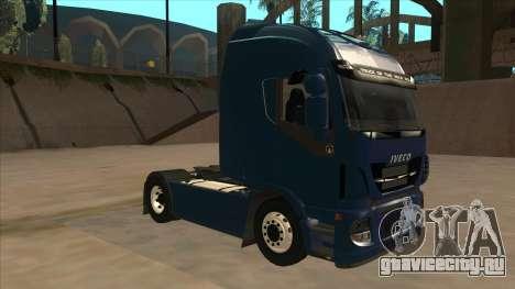 Iveco Stralis HI-WAY для GTA San Andreas вид слева