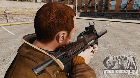 Бельгийский пистолет-пулемёт FN P90 v1 для GTA 4 второй скриншот
