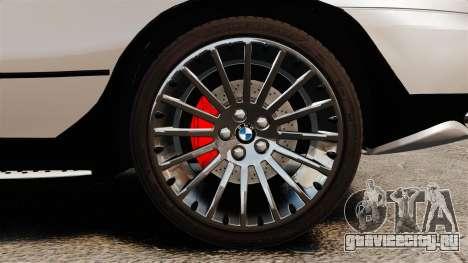BMW X5 4.8iS v2 для GTA 4 вид сбоку