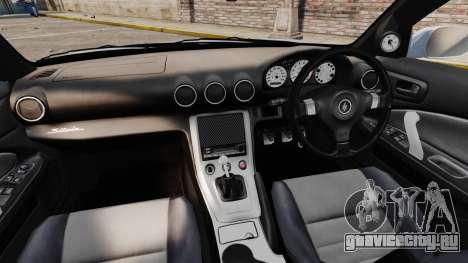 Nissan Silvia S15 v1 для GTA 4 вид сзади